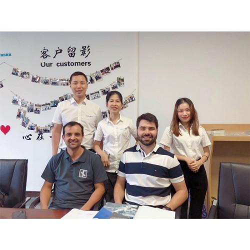 Brazilian customers visited Jeasnn factory