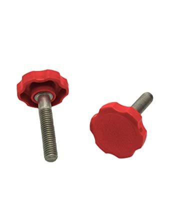 aluminum thumb adjusting screw