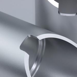 China Manufacturer Aluminum Lighting Accessories Lighting Housing Mr16 Angled Glare Shield