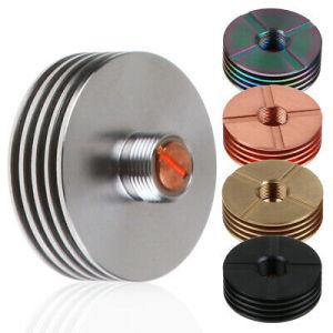 China manufacturer custom aluminum Vape Insulator Thread Connector 510 finned heat sink