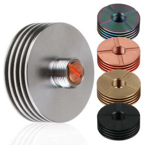 China manufacturer custom aluminum Vape Insulator Thread Connector 510 finned heat sink