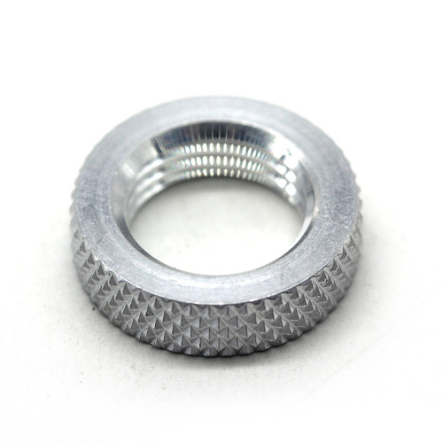 Custom-made High Quality Fastener Round Knurled Jam Nuts