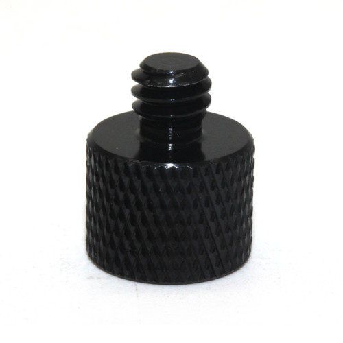 Customized Precision Stainless Steel Flat Head Black Knurled Thumb Screw Nuts