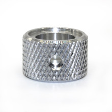 Professional Factory Custom  Fastener Aluminum Rounded Knurled Nuts