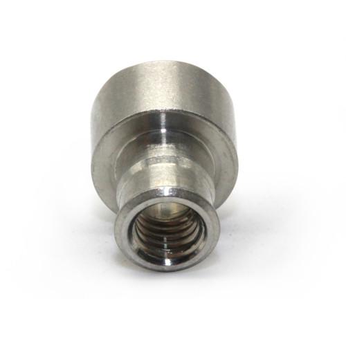 Custom Precision CNC Machined  Galvanized Carbon Steel Nuts