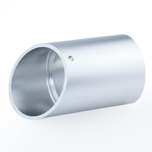 High Quality Aluminum Machined Downlight Angled Glare Shield
