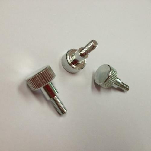 Galvanized Aluminum Raised  Knurled Head Thumb Screws