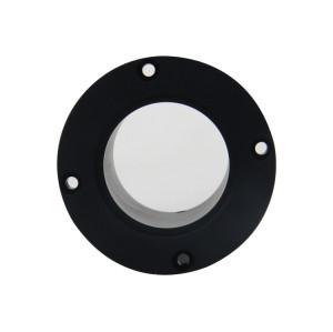 Customized Machined Black Anodized Aluminum Bushings
