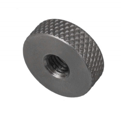 Factory Custom-made High Quality Stainless Steel Flat Cylindrical Knurled Nuts