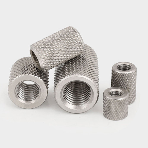 Factory Wholesale Precision Stainless Steel Cylindrical Thumb Nuts