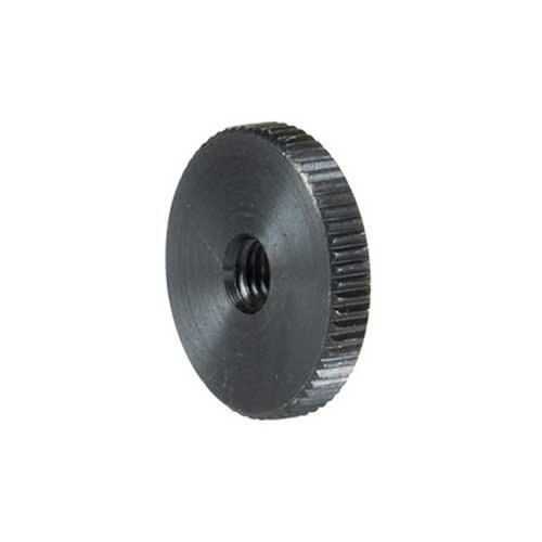 China Factory Custom Stainless Steel Blackened Flat Knurled Thumb Nuts
