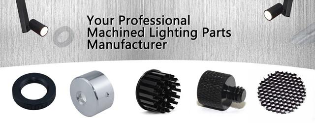 Custom Machined Lighting Parts