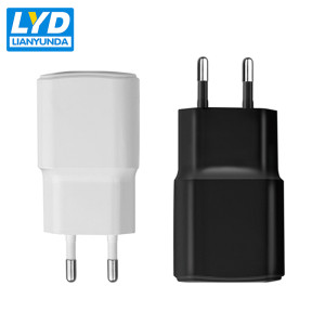 Single Port USB Charger 5V 1A Mobile Phone Charger EU Plug