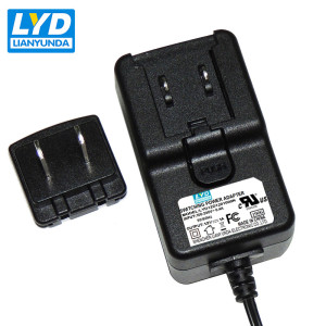 12V 1A AC DC Medical Adaptador de corriente 12W Entrada 100 240V AC 50 / 60Hz