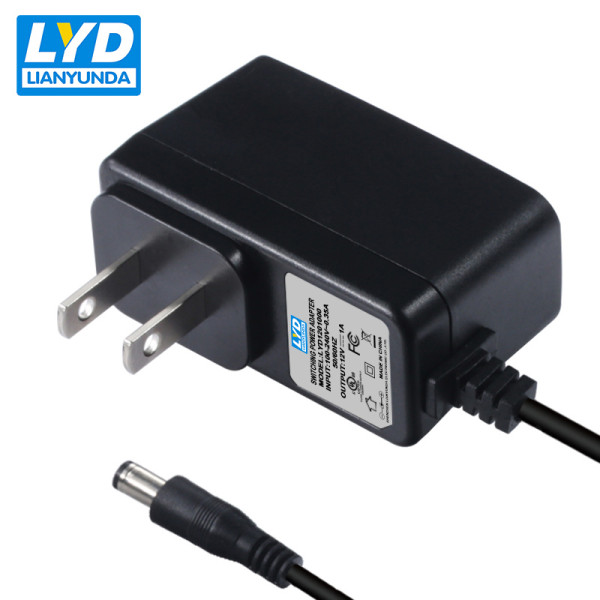 Switching power supply US plug 12v 1a ac dc power adapter