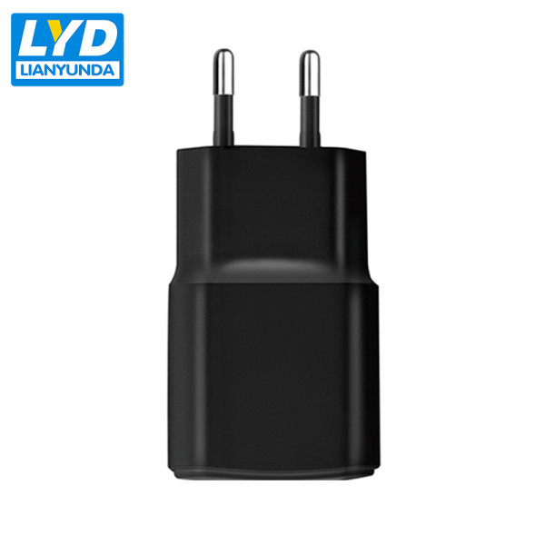 rechargeable EU plug 5v 1a single port usb charger