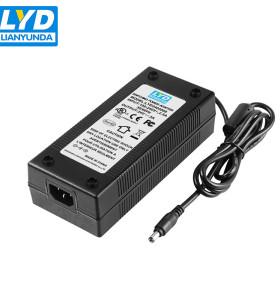 Entrada 100-40v 50 / 60hz ac dc fuente de alimentación 24v 3a adaptador de corriente