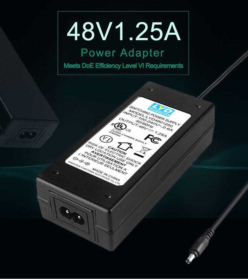 Desktop ac dc power supply