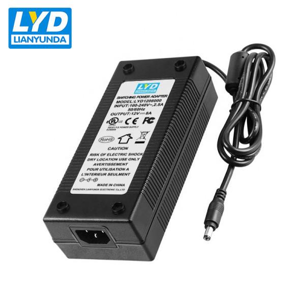 96w desktop C14 ac dc power supply 12v 8a adapter