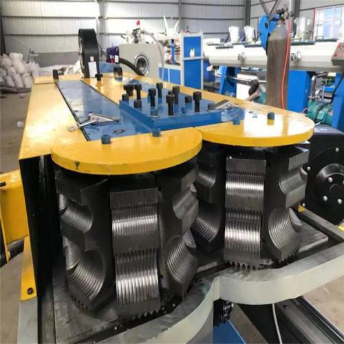 PP PE PVC single wall corrugated pipe machine corrugated pipe production line