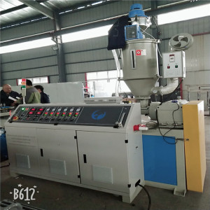 PP PE PVC single wall corrugated pipe machine corrugated pipe production line