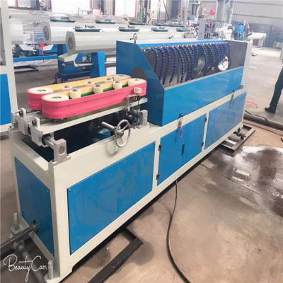 HDPE spiral corrugated conduit pipe making machine