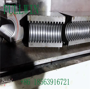 HDPE Double Wall Corrugated Pipe machine with Extrusion Line 50mm-160mm