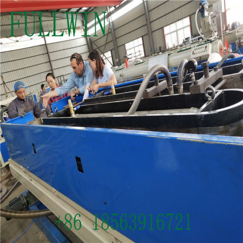 HDPE Double Wall Corrugated Pipe machine with Extrusion Line