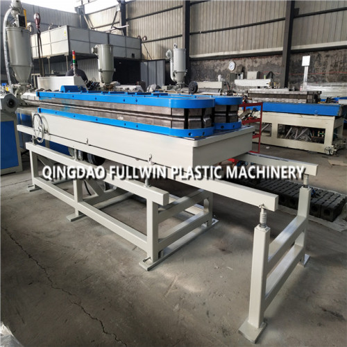 high speed hdpe double wall corrugated pipe machine for fresh air system