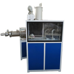 High speed 25m/min pvc pp pe pp single wall corrugated pipe machine with automatic wire device