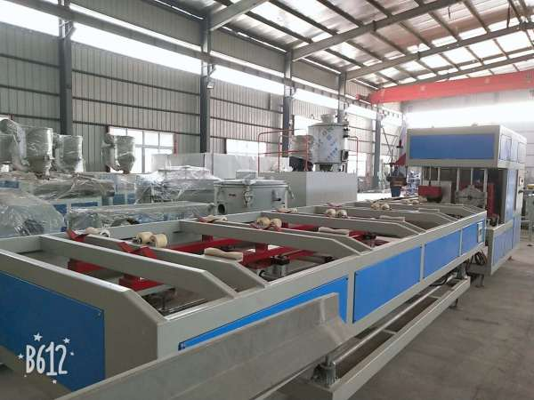 double screw extruder pvc pipe making machine
