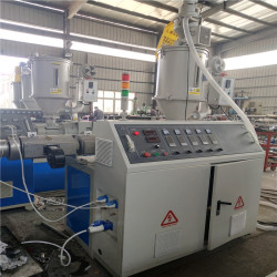 PP PE pipe smooth pipe extrusion line for South Asian Customers