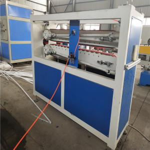 PP/HDPE/PPR solid pipe extruder machine line for Jordan customer