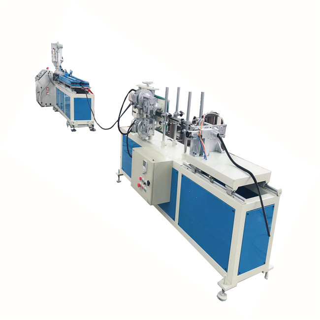 PVC PP PE single wall double wall corrugated pipe production line plastic pipe extrusion
