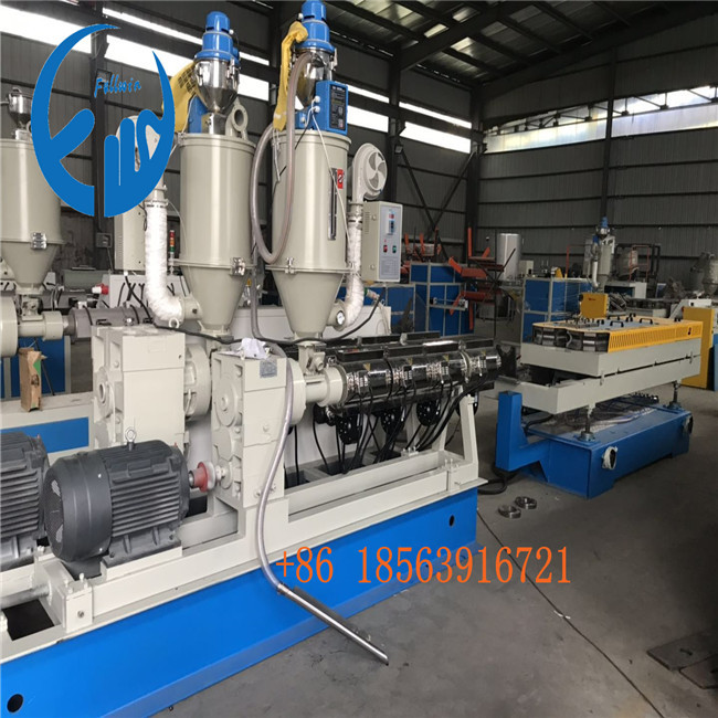 65mm for domestic customer double wall corrugated pipe machine