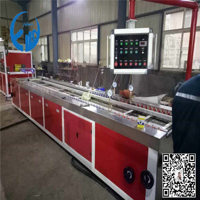 pe wooden plastic profile machine