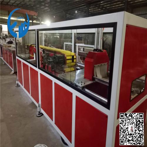 PVC window profile machine