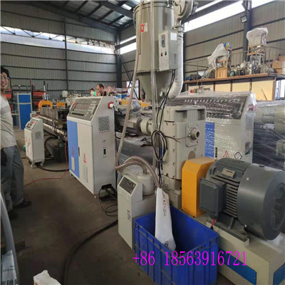 97mm 148mm high speed single wall corrugated pipe machine for india