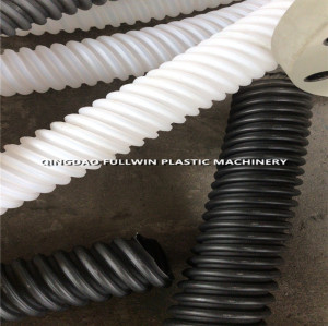 Prestressed Post Tension round Spiral plastic Corrugated Duct price from China Manufacturer