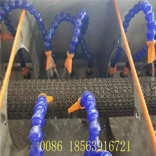 QINGDAO 50-200mm HDPE gridding Permeable pipe  extrusion line production line machine with best price Curved permeable pipe