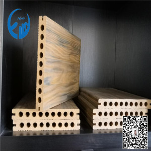 pe wpc raw material wood profile machine