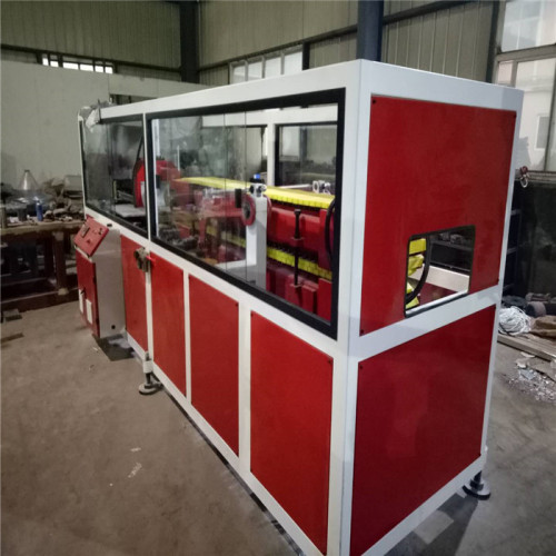 pe wpc raw material wood profile machine