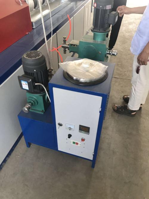 Top quality pe foam fruit net machine
