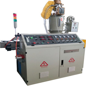 8mm-110mm High speed PP single wall corrugated pipe machine SWC