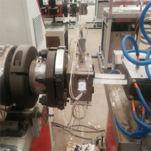 PP PVC Corner Profile Extrusion Machine