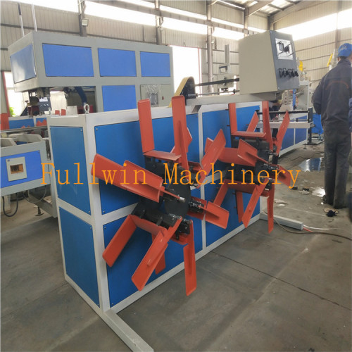 PP smooth pipe machine for electrical usage conduit smooth PP pipe extrusion line
