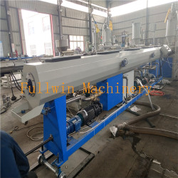 smooth PP pipe extrusion line for South Asian Customers