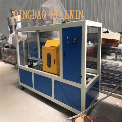 pvc pipe making machine with pipe belling machine