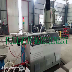 High quality PE PP PVC single wall corrugated pipe  machine for cable threathing