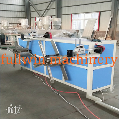 High quality PE PP PVC single wall corrugated pipe  machine with wire device